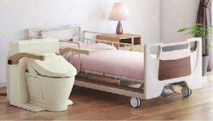 群馬設備工事ベッド脇トイレ設置